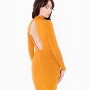 American apparel Ryder midi dress